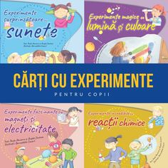 Cărți cu experimente pentru copii