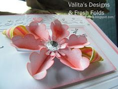 Scallop flower w/teabag folding video