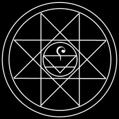 Using early alchemical symbols for creation and earth is this modern double…