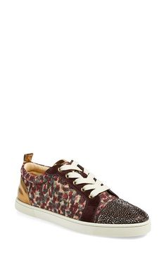 Christian Louboutin 'Gondolastrass' Low Top Sneaker available at #Nordstrom