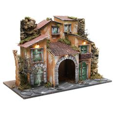 Borgo con capanna cm con 10 luci a batteria Free To Use Images, Rock Painting Designs, Ceramic Houses, Miniature Houses, High Quality Images, Old Houses, Paper Dolls, Home Art, Painted Rocks