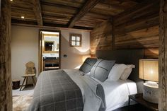 Arpin fabrics, crisp Egyptian linen, super king sized beds and toasty under flour heating.... The perfect cocoon