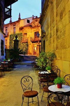 Spanish village - Montjuic - Spain