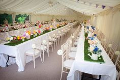 Premex Party inside a fully draped marquee as provided by Elite Marquees.