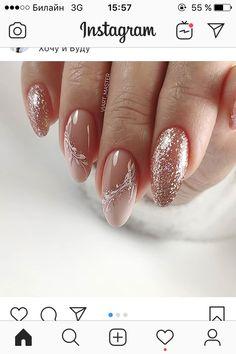 Neutral Nail Designs, Classy Nail Designs, Cute Acrylic Nail Designs, Neutral Nails, French Acrylic Nails, Cute Acrylic Nails, Elegant Nails, Classy Nails, Nail Mania