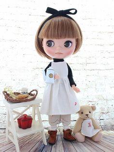 ◆Blythe Outfit◆ブライス♪おうちカフェ12点セット♪NO.36_画像2