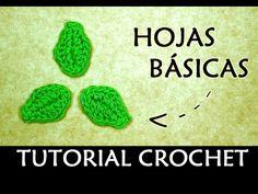 HOJA DE CALABAZA A CROCHET (grande) | Patrones Valhalla - YouTube