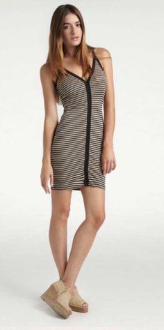 $115  http://shop.estiloboutique.com/index.php?product=KN-D417E=1 Kain Jules Stripe Dress - Dresses - Estilo