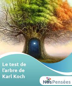 Le test de l'arbre de Karl Koch Le test de l'arbre de Karl Koch est un test projectif intéressant visant à analyser notre personnalité, ainsi que notre univers émotionnel sous-jacent. Du fait de la facilité de sa réalisation, il est commun de l'utiliser auprès des enfants ; cependant, généralement, c'est aussi un outil d'auto-analyse suffisamment précis pour nous permettre de nous connaître un peu mieux.