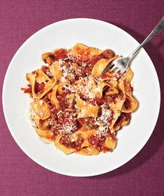 Beef and Mushroom Ragu With Pappardelle Recipe