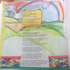 Psalm57 psalm Bijbeljournaling Biblejournaling Craftbijbel Lees die psalm! Mooi!!!