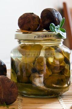 Grzybki Marynowane Bez Pasteryzowania Food Sweet Savory Cucumber