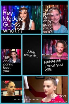 Dance moms comic. By-@PrincessPink9