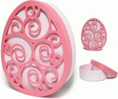 Silhouette Design Store - View Design #76502: easter egg flourish box