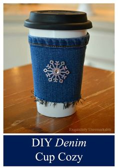 Make a DIY cup cozy