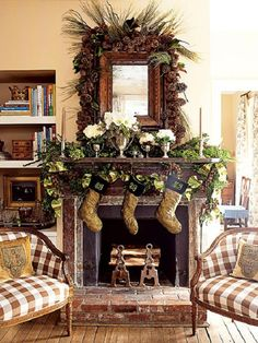 44-Winter-Mantel-Decorating-Ideas-Pictures.jpg 510×680 pixels