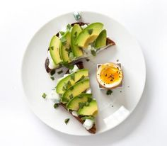 Avocado and Raita Toast With Boiled Egg | REAL SIMPLE