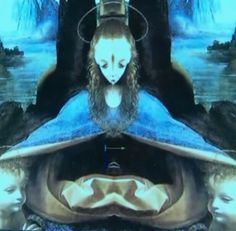 Depictions of extraterrestrial beings discovered in Leonardo da Vinci paintings. Aliens And Ufos, Biblical Art, Alien Art, Italian Renaissance, The Rock, Artwork, Fictional Characters, Rocks, Mirror Work