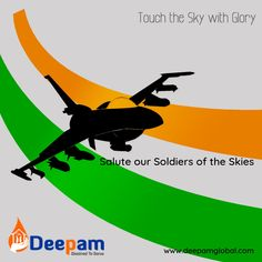 Salute to our Indian Air Force who never fail to make us proud. #IndianAirForce #AirForceDay #AirForce #Aviation #SpecialForces #Pilot #Indian #soldiers #DeepamGlobal www.deepamglobal.com Air Force Day, Indian Air Force, Special Forces, Soldiers, Pilot, Aviation, Movie Posters, Armed Forces, Air Ride