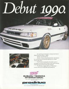 Subaru Legacy Group A