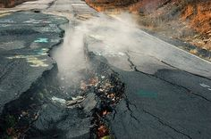 The Unstoppable Coal Fire Blazing Beneath Pennsylvania - In Centralia Pennsylvania a coal fire has been burning for more than 50 years.