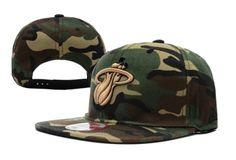 Casquette NBA Miami Heat Camo Snapback Casquette New Era Pas Cher Hats For  Sale 83be7d3042e