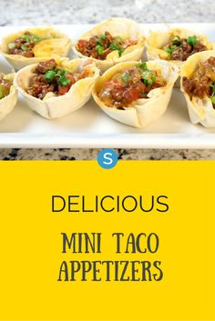 A must-try recipe that is as delicious as it is cute! Check out the recipe to these mini taco cups here: http://simplemost.com/appetizer-recipe-delicious-mini-taco-cups?utm_campaign=social-account&utm_source=pinterest&utm_medium=organic&utm_content=pin-description