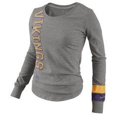 Women's Minnesota Vikings Touch by Alyssa Milano Purple Morgan T-Shirt