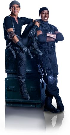 The Expendables 3 (2014) - Banderas & Snipes