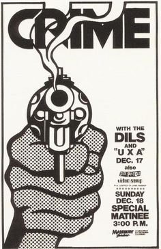 35 Old Punk Flyers That Prove Punk Used To Be So Cool