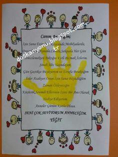 Anneler Günü Hediyesi <3 #okuloncesi #etkinlik #sanatetkinligi #sanatmerkezi #etkinlikpaylasımı #etkinlikönerisi #duskanyonublog #kidscraft #presschool #kindergarten
