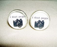 VINTAGE CAMERA Cuff Links Men Women Cufflinks Vintage Illustration PHOTOGRAPHER