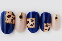 Hey, I found this really awesome Etsy listing at https://www.etsy.com/listing/166279207/japanese-nail-art-gel-animal-leopard