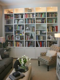 Home Library Furniture Ikea Billy Super Ideas What's Decoration? Decoration may be the art of decorating the inner and … Home Library Design, Home Office Design, Home Office Decor, House Design, Home Decor, Dream Library, Bookshelves Built In, Ikea Billy Bookcase Hack, Billy Bookcases