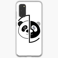 Samsung Cases, Samsung Galaxy, Phone Cases, Panda Head, Semi Transparent, Printed, Awesome, Art, Products