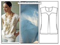 Pattern Review: Linen Tunic, Burda Magazine 7-2008-108 « Miss Celie's Pants