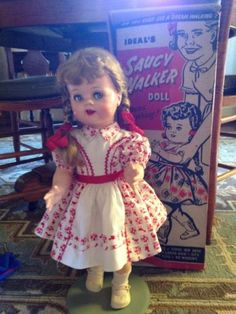 Saucy-Walker-22-All-Original-With-Box-1950s