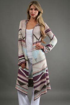 Love this: Yarn Lima Cardigan in Sand Combo @Lyst