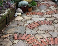 Backyard Low Maintenance Landscaping Ideas | low budget garden path? by Subjects Chosen at Random