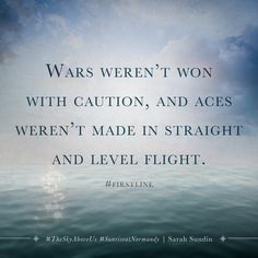 #FirstLine from The Sky Above Us by Sarah Sundin