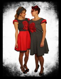 Rockabilly, Cold Shoulder Dress, Dresses, Fashion, Vestidos, Moda, Fashion Styles, Dress, Fashion Illustrations