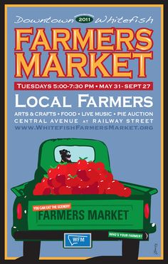 farmers market poster - Google Search