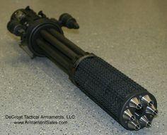 Yes, that's a suppressed minigun