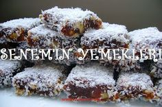 Senem'in Yemekleri: ORJİNAL CEZERYE TARİFİ My Favorite Food, Favorite Recipes, Candy Cookies, Turkish Delight, Turkish Recipes, Dessert Recipes, Desserts, Granola, Dairy Free