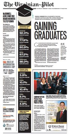 The Virginian-Pilot's front page for Wednesday, Oct. 9, 2013.