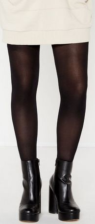 A must for chilly days, 50 Denier Opaque Tights - $14.99 from Glassons