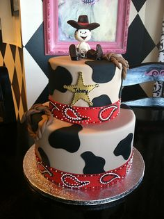 Baby Cowboy Cake by Designer Cakes By April, via Flickr