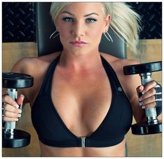 cffe56b6107a6 Do this exercise to expand your cleavage  D Wellness Fitness