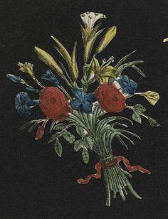 """""""Bouquet de fleurs"""" de Anonyme. Marseille, MuCEM, Musée des Civilisations de l'Europe et de la Méditerranée - Photo (C) RMN-Grand Palais (MuCEM) / Franck Raux"""