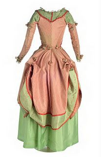 Polonaise about 1775-1785 back.  Love these colors!!
